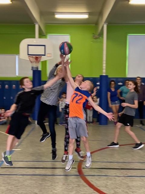 Le sport du mois le Basketball !